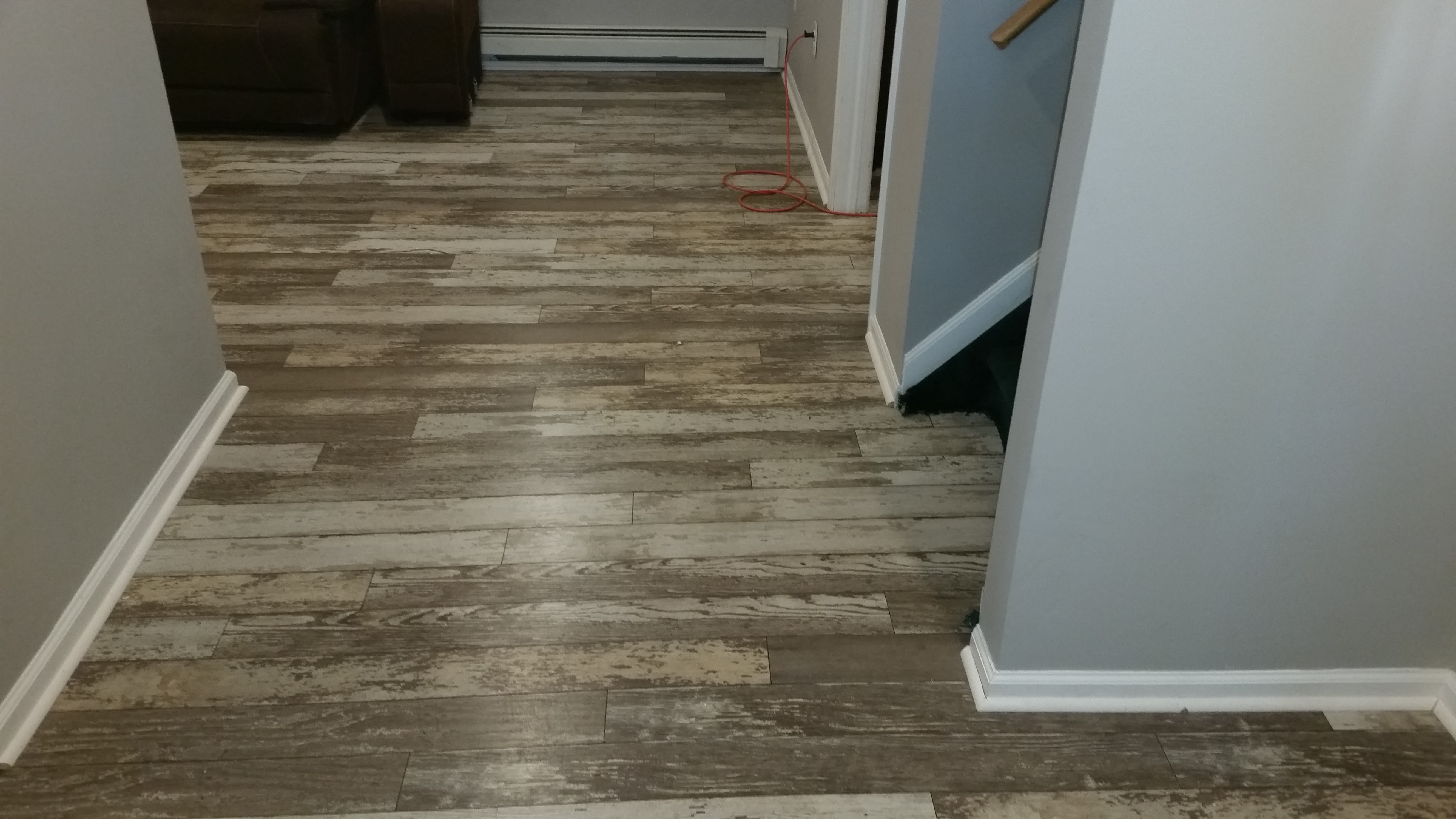 Hardwood floor installed by A&M Home Improvements in Westfield, New Jersey