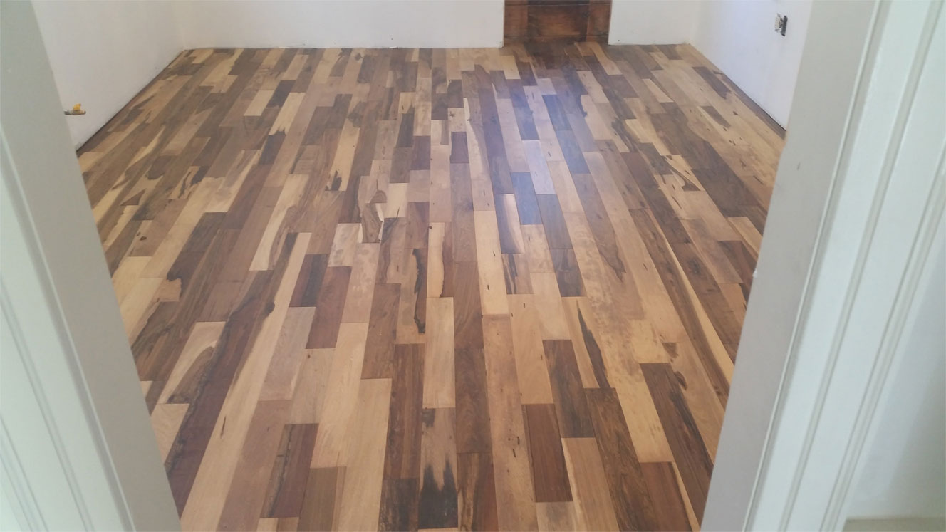 Hardwood floor installed by A&M Home Improvements in New Jersey